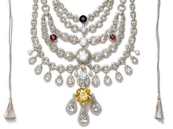 Maharajá Patiala collar